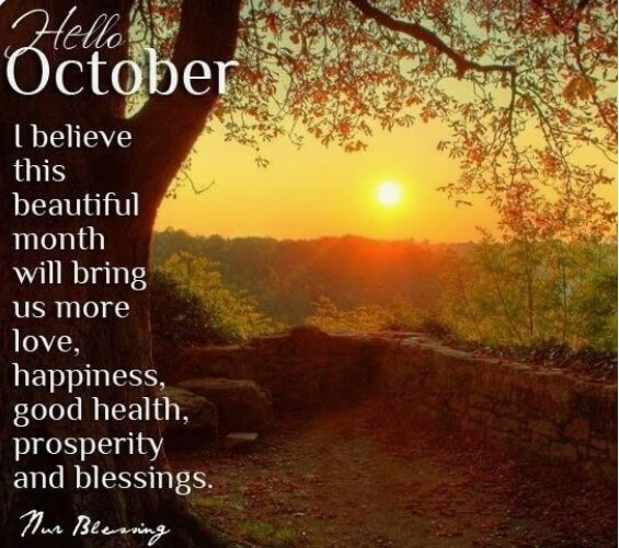 October Quotes For Instagram