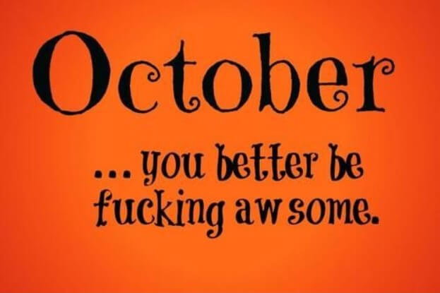October Quotes Images