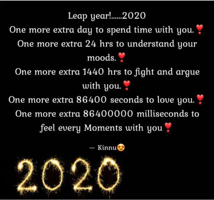 Best 50 Leap Year Quotes and Sayings 2020 - Events Yard