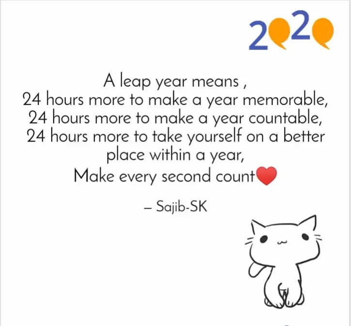 Quotations About Leap Year Day