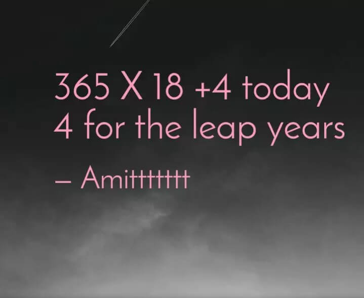 Leap Year Wishes